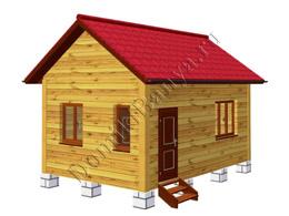 Дом из бруса 4х6 №3
