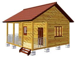 Дом из бруса 6х6 №8