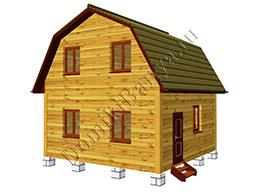 Дом из бруса 6х6 №15