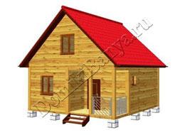Дом из бруса 6х6 №20