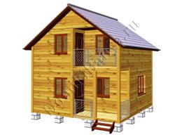 Дом из бруса 6х6 №22