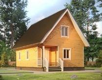 Дом из бруса 6х9 №43